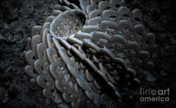 Phantasy Digital Art - Deepsea  by Jan Willem Van Swigchem
