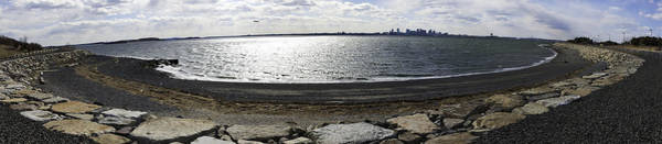 Wall Art - Photograph - Deer Island Pano by Andrew Kubica