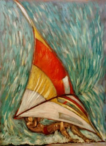 Tacoma Painting - Defying Gravity by Charles Munn