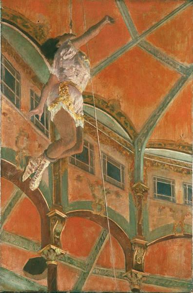 Trapeze Photograph - Degas: Miss La La by Granger