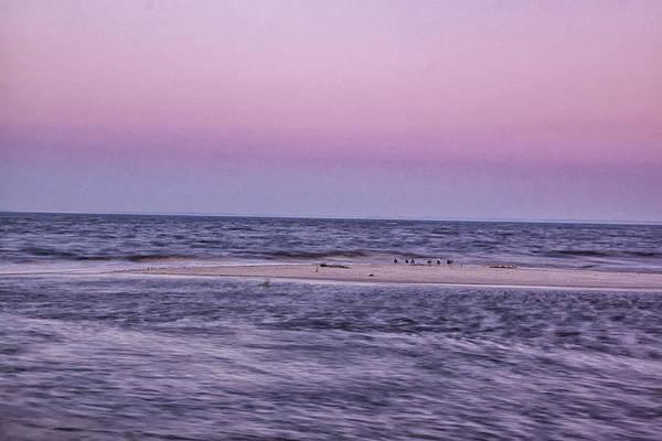 Photograph - Delaware Bay Dawn by Tom Singleton