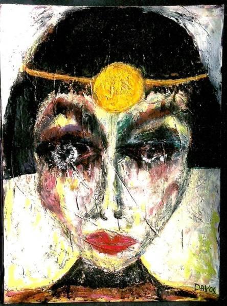 Sax Painting - Deliah by Darlyne Sax