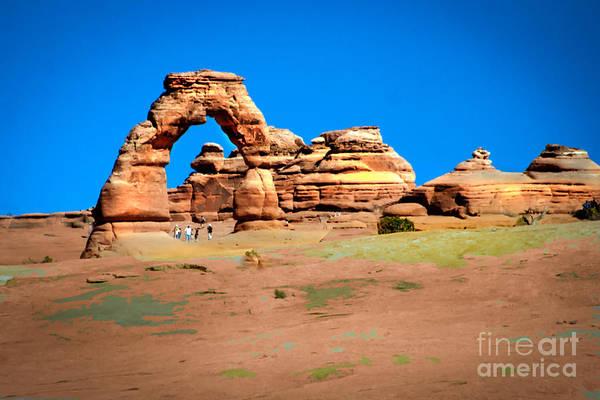 Entrada Photograph - Delicate Arch by Robert Bales