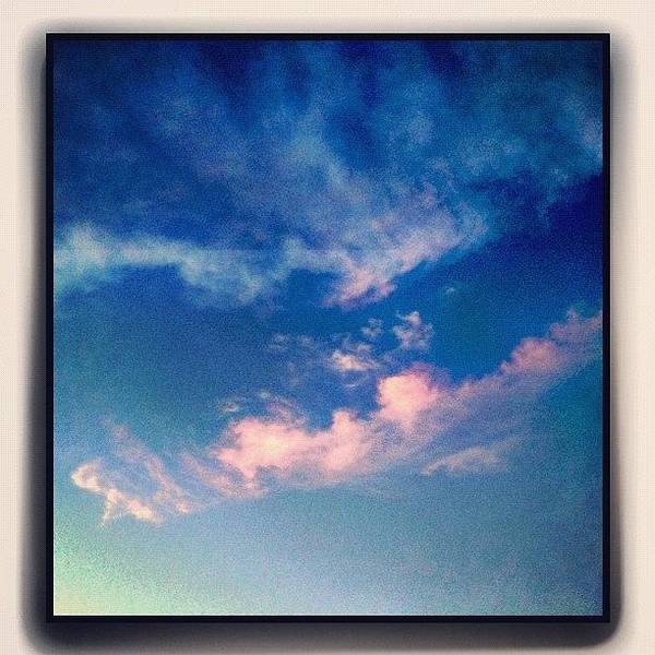 Fineart Wall Art - Photograph - Delicate Evening Clouds by Paul Cutright