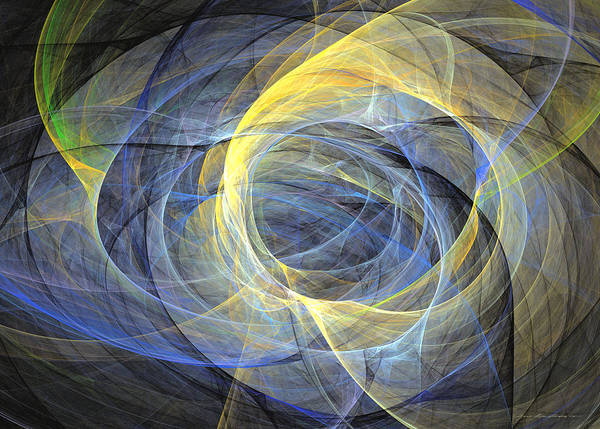 Digital Art - Delightful Mood Of Abstracted Mind by Sipo Liimatainen