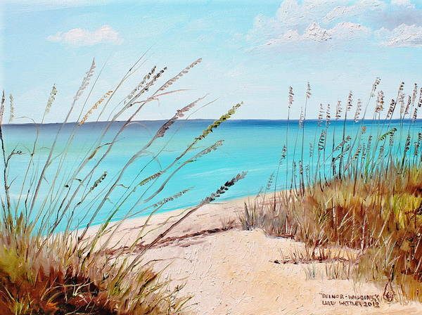 Gulf State Park Painting - Delnor-wiggins by Larry Whitler