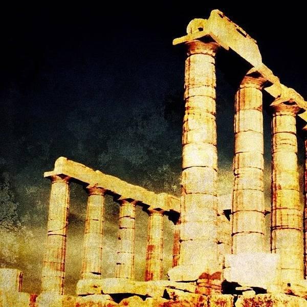 Ancient Photograph - Delphi Ancient Temple by Natasha Marco