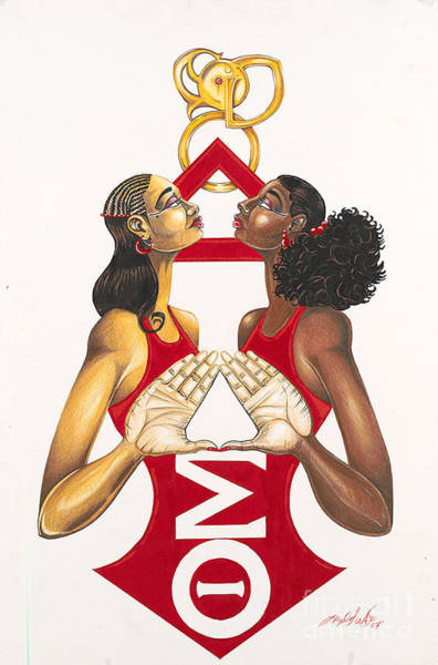 Delta Sisters Art Print