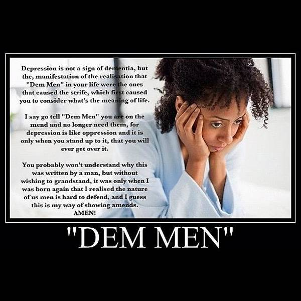 Dem Men Is Short For Dementia Art Print