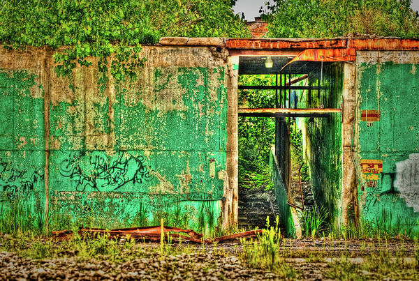 Photograph - Demolished Building-hdr by  Onyonet  Photo Studios