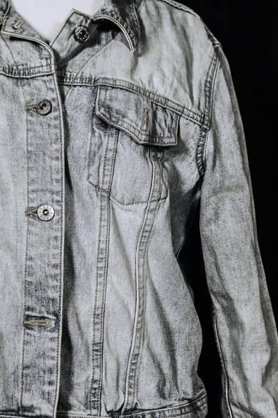 Wall Art - Photograph - Denim Jacket by Joana Kruse