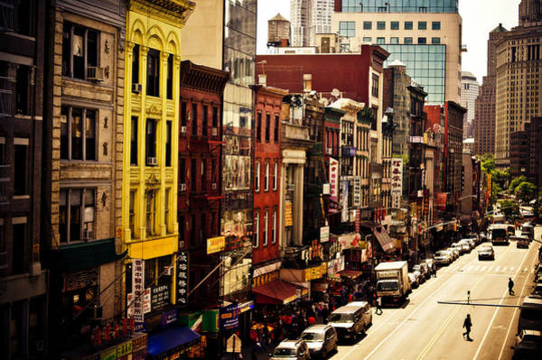 Tenement Photograph - Density - Above Chinatown - New York City by Vivienne Gucwa