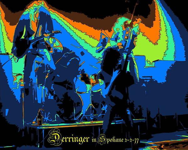 Photograph - Derringer Rock Spokane 1977 by Ben Upham