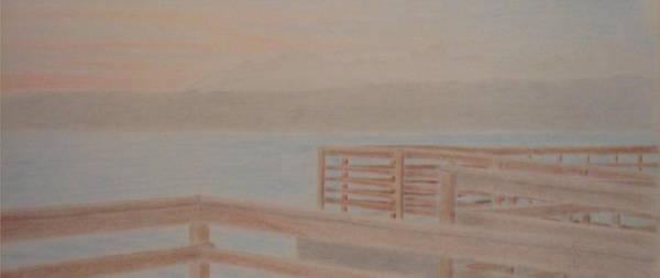 Wa Drawing - Des Moines Marina 3 Of 3 by Kip Vidrine