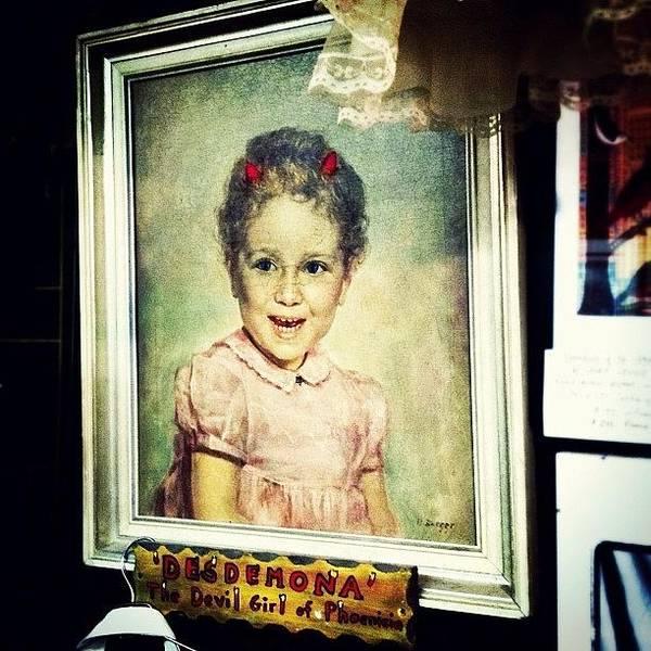 Retro Wall Art - Photograph - Desdemona: The Devil Girl Of Phoenicia by Natasha Marco