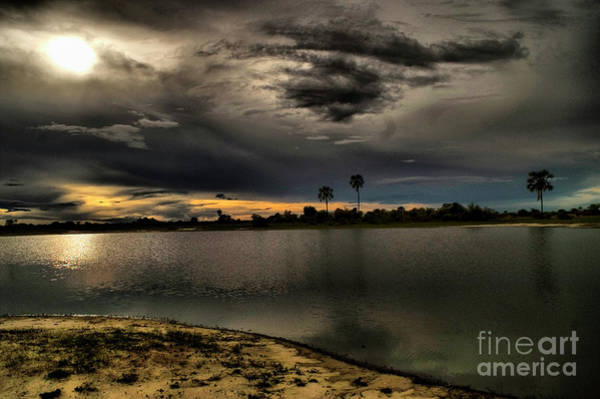 Photograph - Desert Pan After Rain by Mareko Marciniak