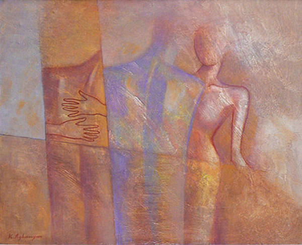 Wall Art - Painting - Desire by Karen Aghamyan