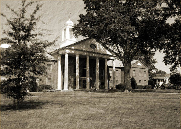 Photograph - Desoto Courthouse On Market Day by Barry Jones