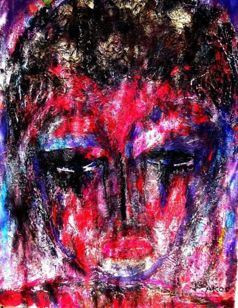 Desolation Painting - Despair by Darlyne Sax
