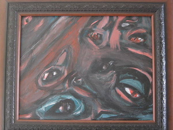 Benny Painting - Despair  by Robert Benny
