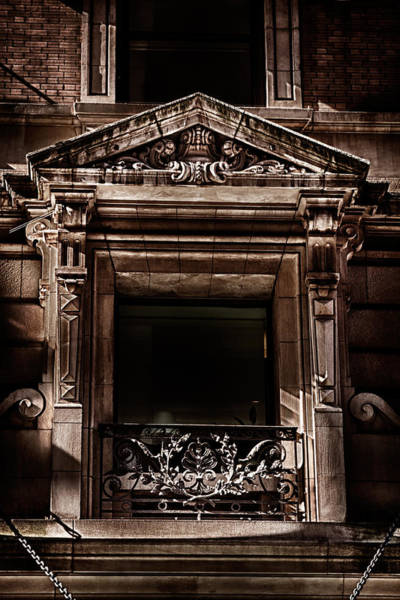 Photograph - Detail Of The Building In Manhattan by Val Black Russian Tourchin