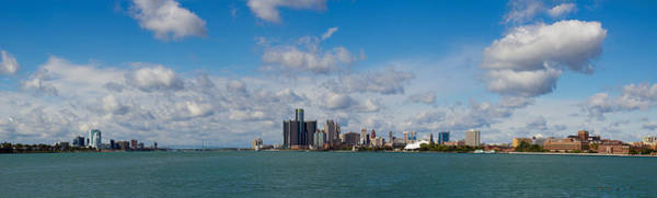 Belle Isle Photograph - Detroit Michigan Skyline by Twenty Two North Photography