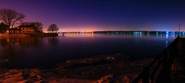 Wall Art - Photograph - Detroit River Panorama by Cale Best