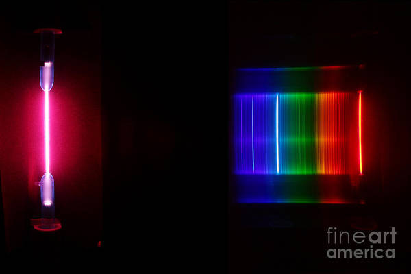 Grating Wall Art - Photograph - Detuteri Spectra by Ted Kinsman