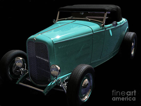 Mixed Media - Deuce Coupe by Jerry L Barrett