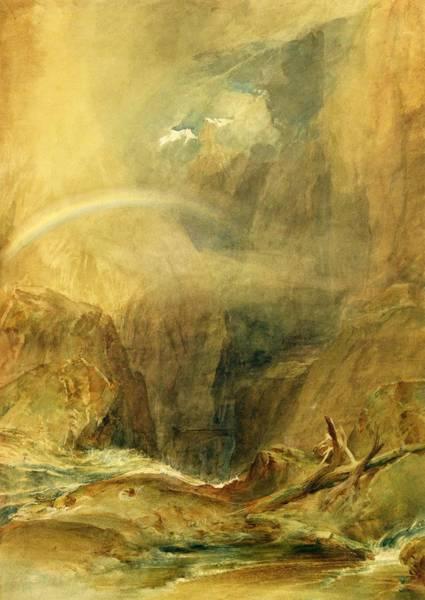 1851 Photograph - Devil's Bridge by Joseph Mallord William Turner