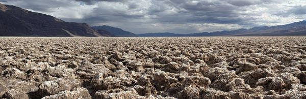 Photograph - Devils Golf Course Panorama Death Valley National Park by Pierre Leclerc Photography