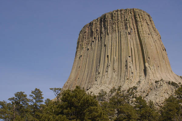 Photograph - Devils Tower National Monument, Wyoming by Pete Oxford