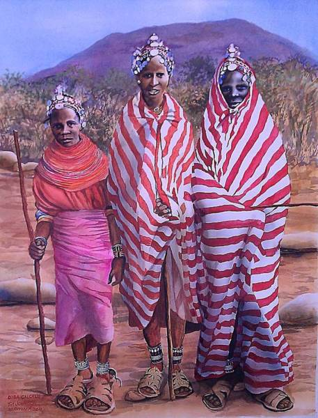 Painting - Dida Galgalu by Tim Johnson