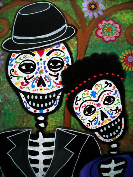 Painting - Diego And Frida by Pristine Cartera Turkus