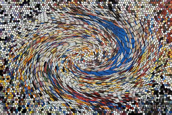 Digital Art - Digital Directional Chaos by Robert Haigh