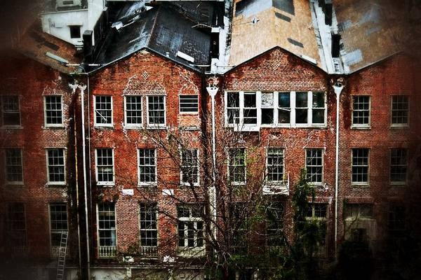 Photograph - Dilapidated Building On Poydras Street by Jim Albritton