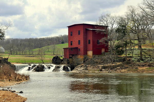 Photograph - Dillard Mill by Marty Koch