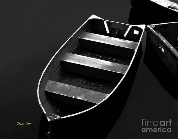 Digital Art - Dinghy by Dale   Ford