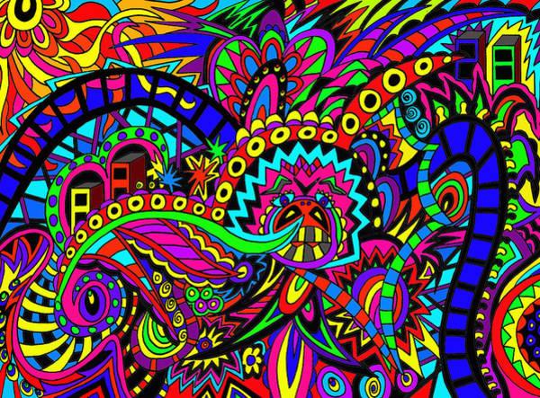 Wall Art - Digital Art - Dipper Of Life by Karen Elzinga