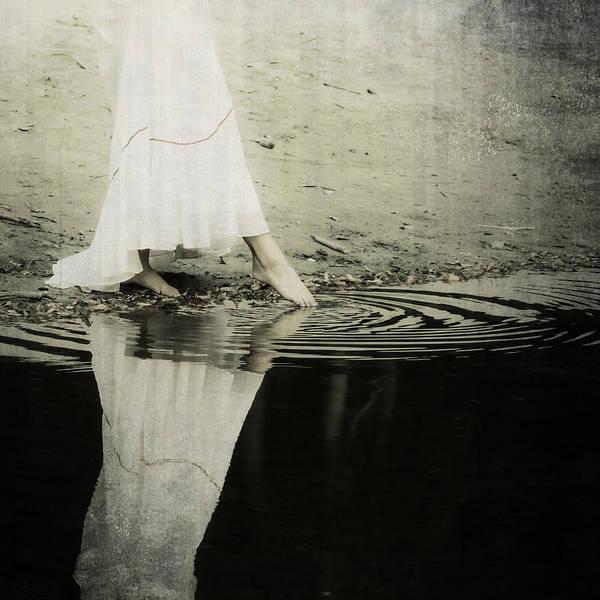 Wall Art - Photograph - Dipping The Foot by Joana Kruse