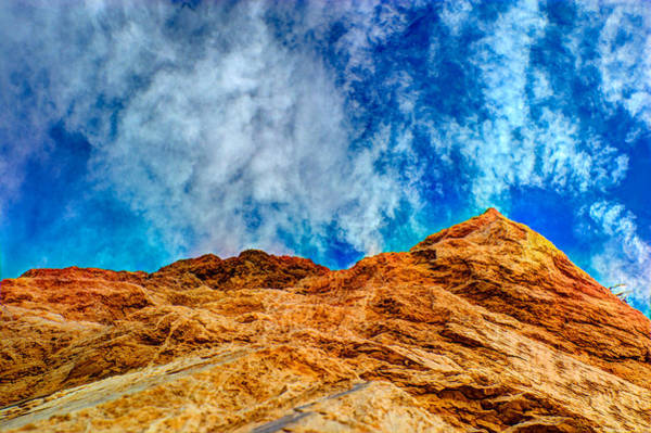 Photograph - Dirt Mound And More Sky by Mark Dodd