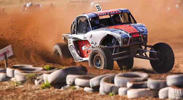 Photograph - Dirt Racing by Paul Svensen