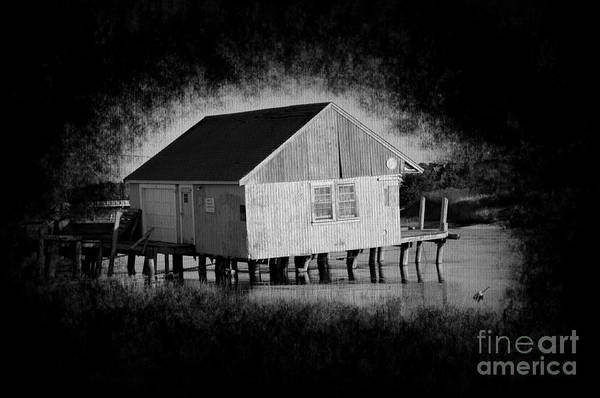 Wall Art - Photograph - Dirty Little Boathouse by Luke Moore