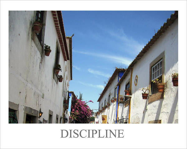 Photograph - Discipline Motivational by John Shiron