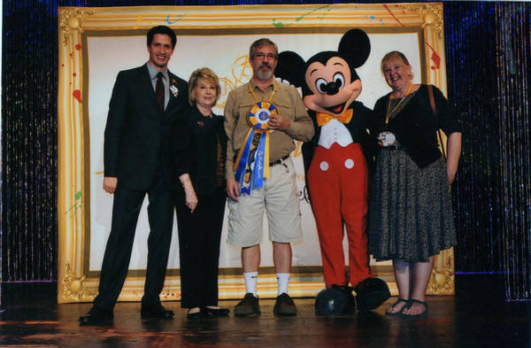 Mickey Mouse Photograph - Disney's Festival Of The Masters by Patrick Anthony Pierson