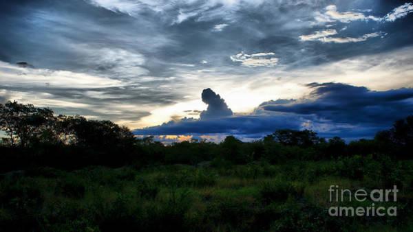 Photograph - Distant Evening Storm by Mareko Marciniak