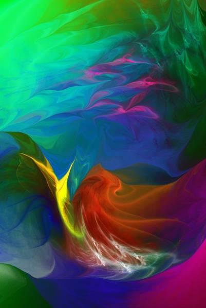 Reef Diving Digital Art - Dive Fantasy by David Lane