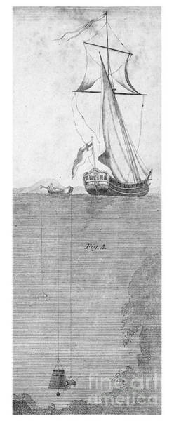Diving Bell Photograph - Diving Bell, 18th Century by Granger