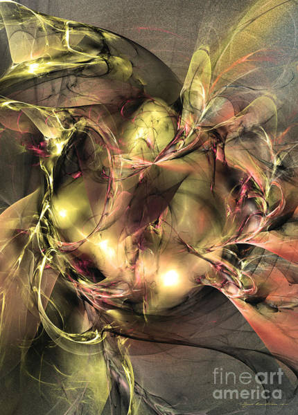 Digital Art - Do Not Touch -abstract Art by Sipo Liimatainen