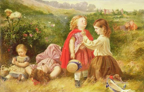 Butter Painting - Do You Like Butter by Myles Birket Foster